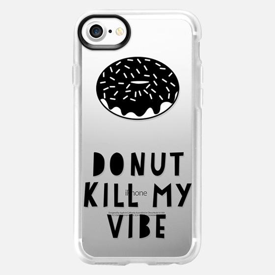 Donut Kill My Vibe - Wallet Case