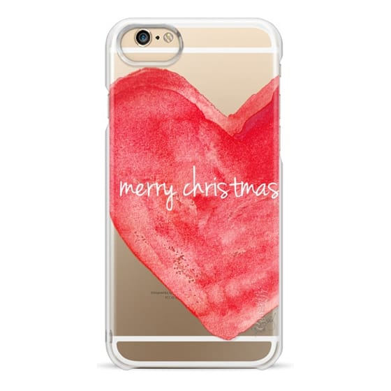 iPhone 6 Cases - Merry Christmas Heart