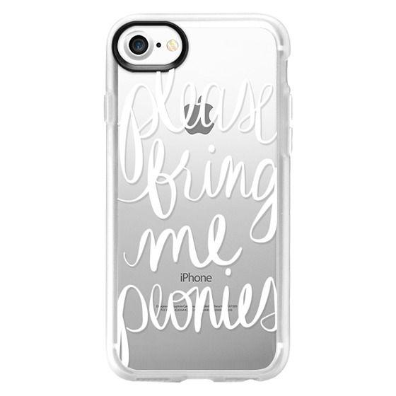 iPhone 7 Cases - Please Bring Me Peonies