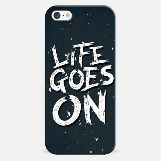 LIFE GOES ON - Classic Snap Case