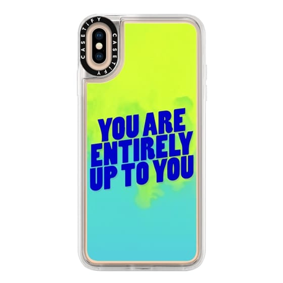iPhone XS Max Cases - You are entirely up to you