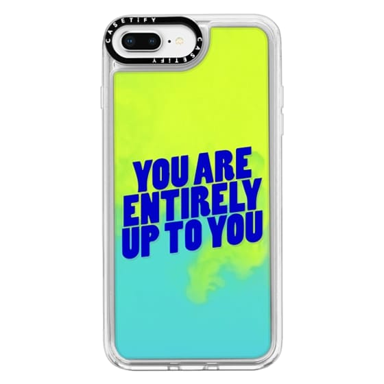 iPhone 8 Plus Cases - You are entirely up to you