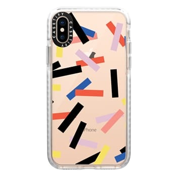 Impact iPhone Xs Case - Casetify Confetti