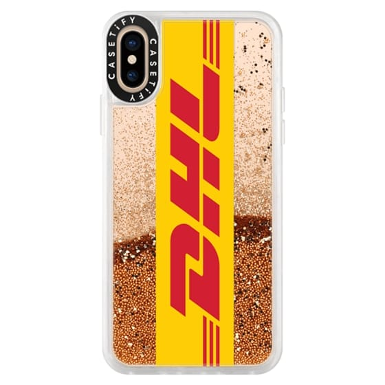 iPhone XS Cases - The Glitter Yellow