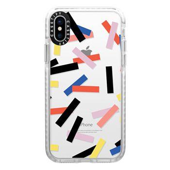 Impact iPhone X Case - Casetify Confetti