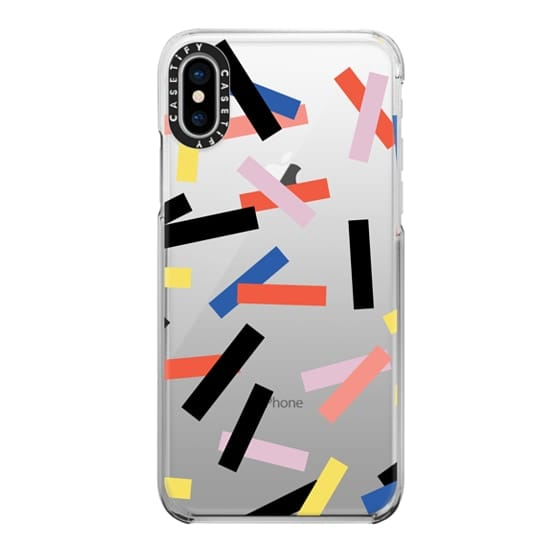 iPhone X Cases - Casetify Confetti