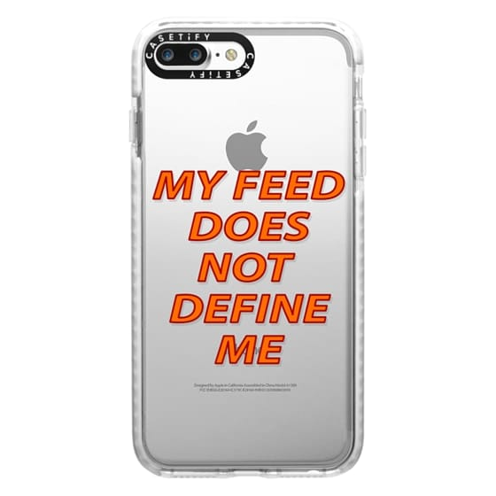 iPhone 7 Plus Cases - My feed does not define me 2