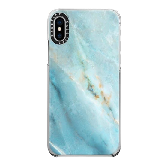 iPhone X Cases - marble 070