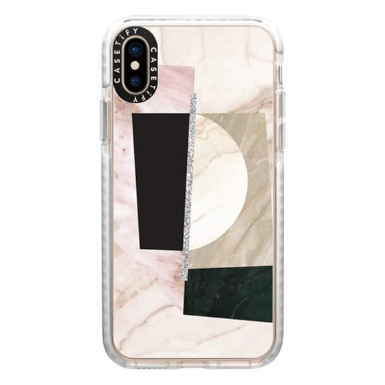 iPhone XS Cases - marble 065