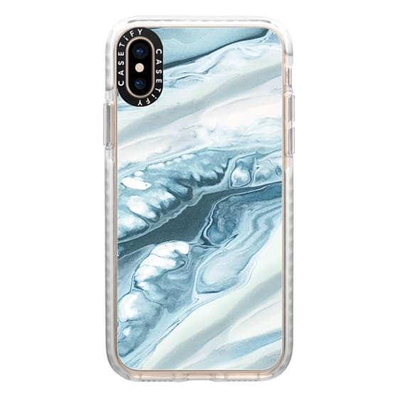 iPhone XS Cases - marble048
