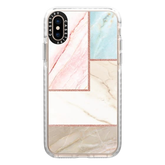 iPhone XS Cases - marble 060