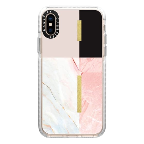 iPhone XS Cases - marble 061