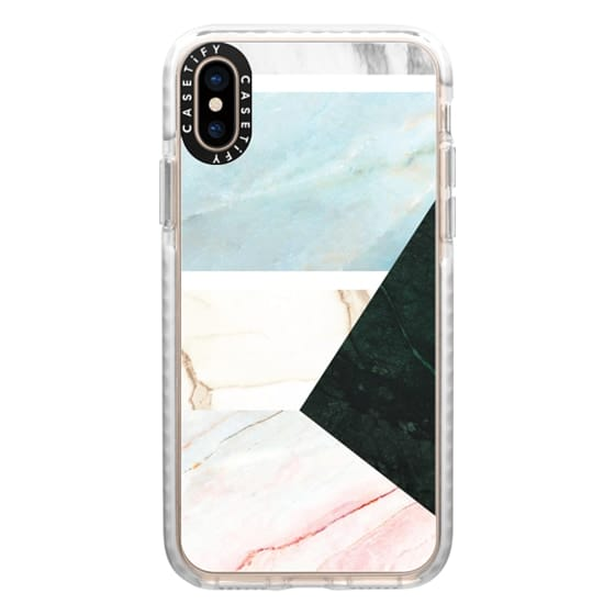 iPhone XS Cases - marble 064