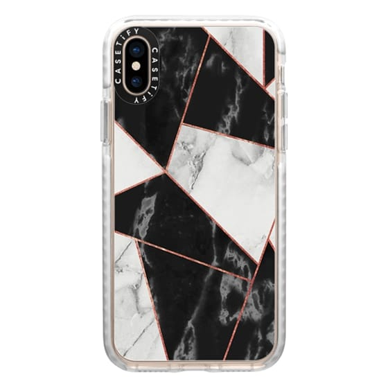 iPhone XS Cases - marble037
