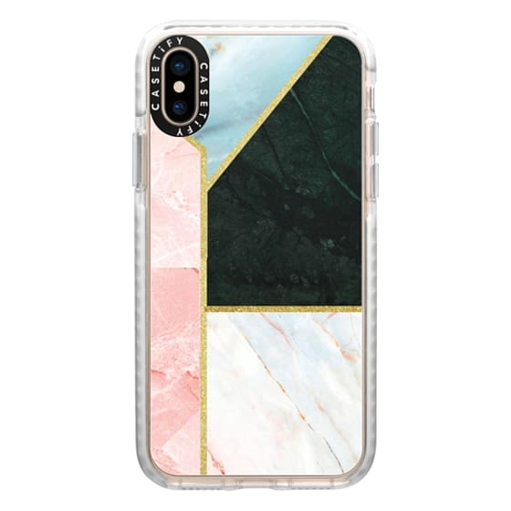 iPhone XS Cases - marble 062