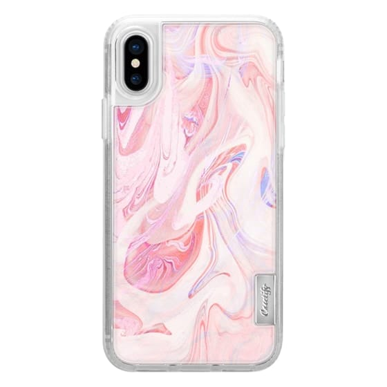 iPhone X Cases - marble050