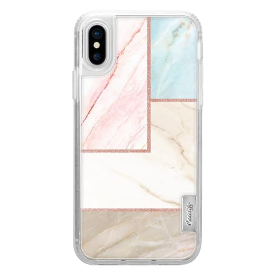 iPhone X Cases - marble 060
