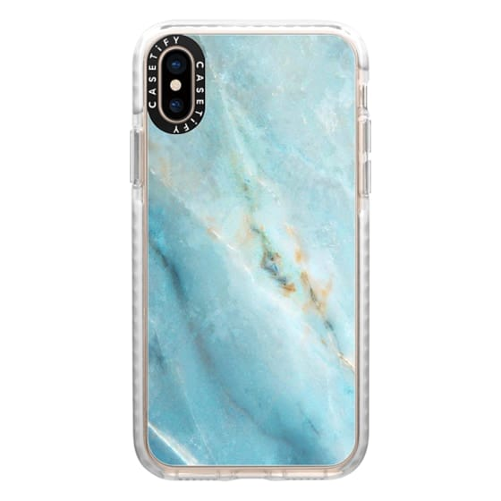 iPhone XS Cases - marble 070