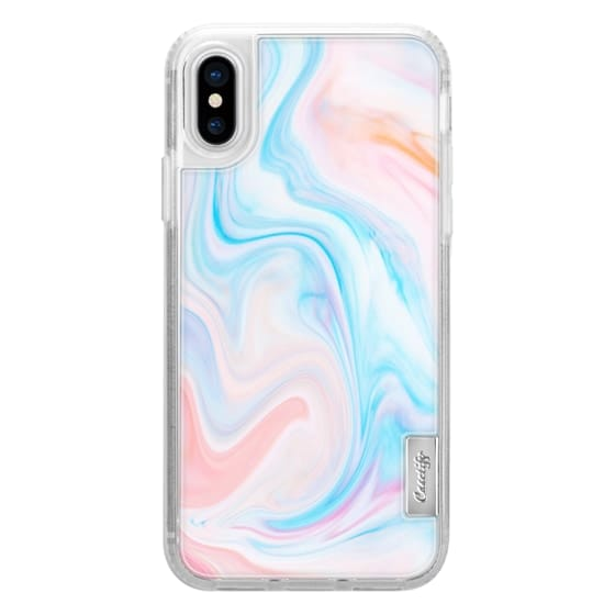 iPhone X Cases - marble049