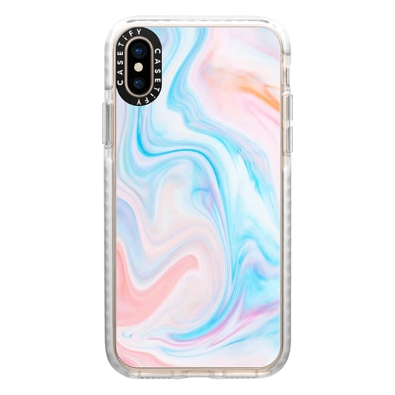 iPhone XS Cases - marble049