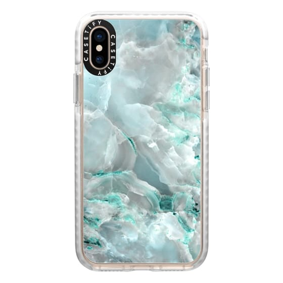 iPhone XS Cases - marble046