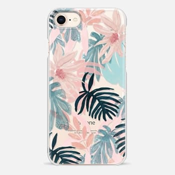 iPhone 8 ケース Pink Spring by Chloe Hall
