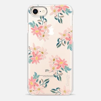 iPhone 8 ケース Pink Daisies