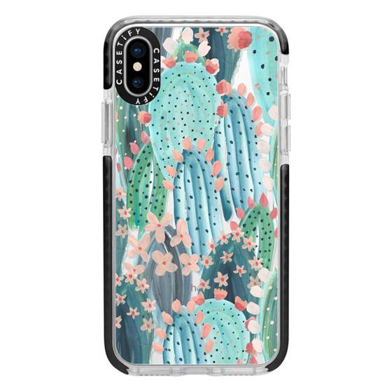 iPhone X Cases - Cacti