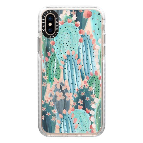 iPhone XS Cases - Cacti