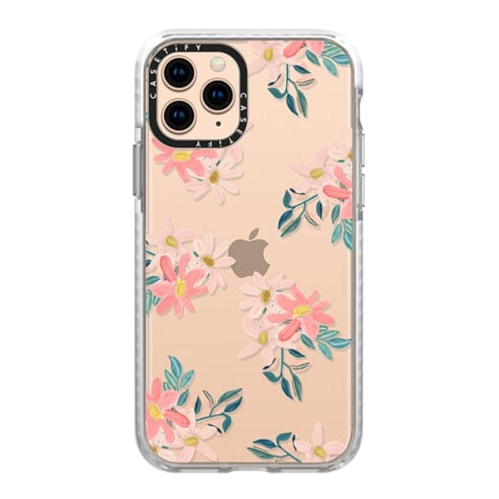 iPhone 11 Pro Cases - Pink Daisies