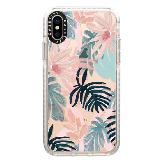 iPhone XS Cases - Pink Spring by Chloe Hall