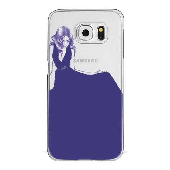 Samsung Galaxy S6 Cases - Blue Dress
