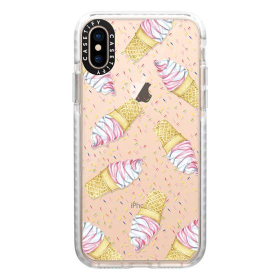iPhone XS Cases - Ice Cream Sprinkles