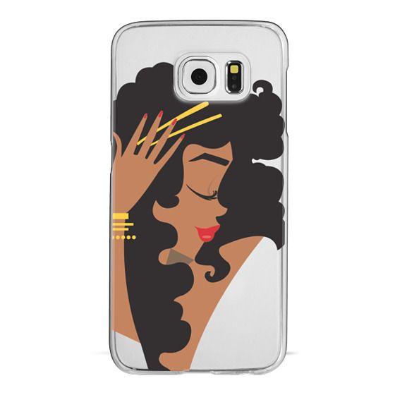 Samsung Galaxy S6 Cases - Gold Curls