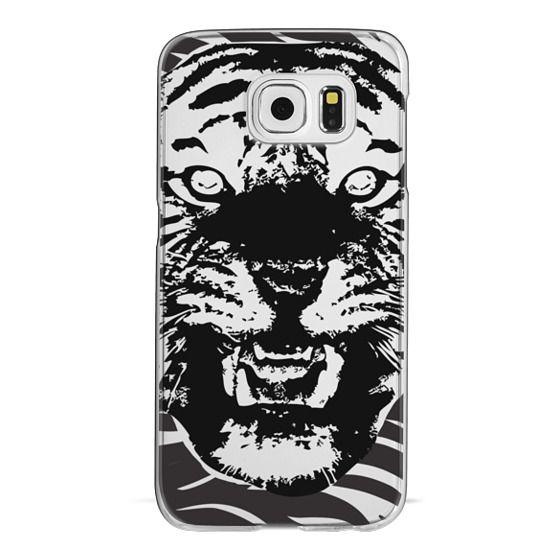 Samsung Galaxy S6 Cases - Animal Print Tiger Stripes