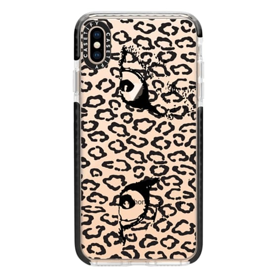 iPhone XS Max Cases - Leopard eyes