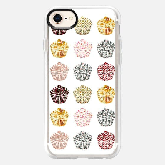 when you look at a cupcake you have got to smile - Snap Case