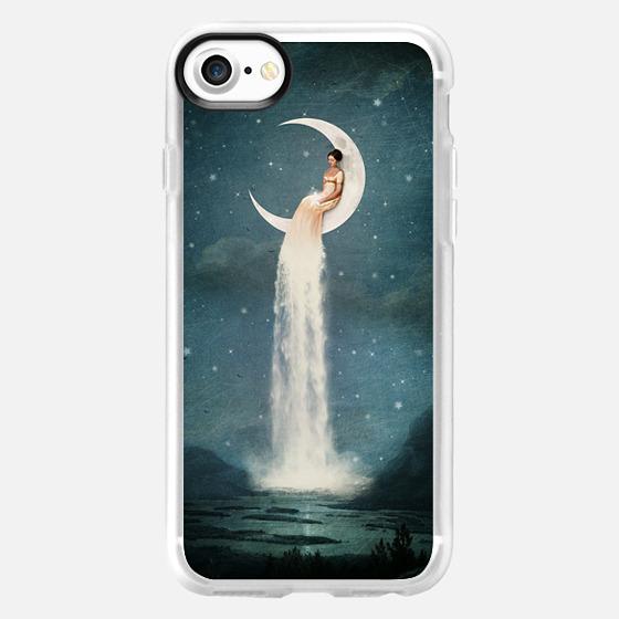 Moon River Lady - Wallet Case