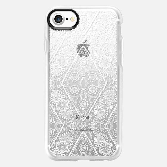 Floral Lace 4 - Wallet Case
