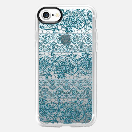 Floral Lace 5 - Wallet Case