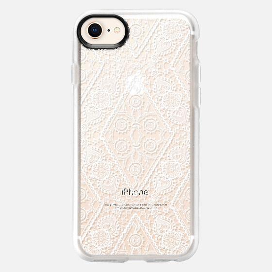 Floral Lace 4 - Snap Case