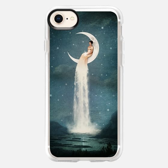 Moon River Lady - Snap Case