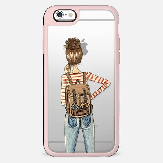 Travel Girl (Transparent)