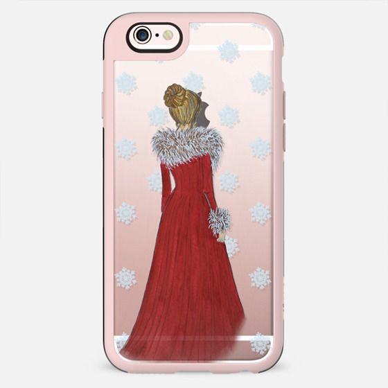 Christmas Dress (Transparent) - New Standard Case