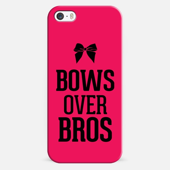 Bows Over Bros - Classic Snap Case
