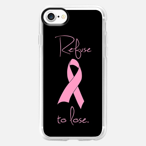 Refuse to Lose Pink Breast Cancer Ribbon Design -