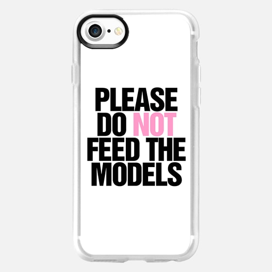 Please Do Not Feed the Models -