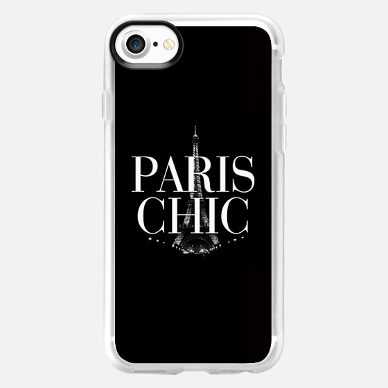Paris Chic Black & White Eiffel Tower  -