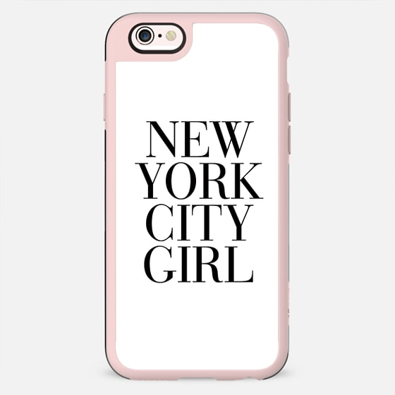 New York City Girl Vogue Typography - New Standard Backplate