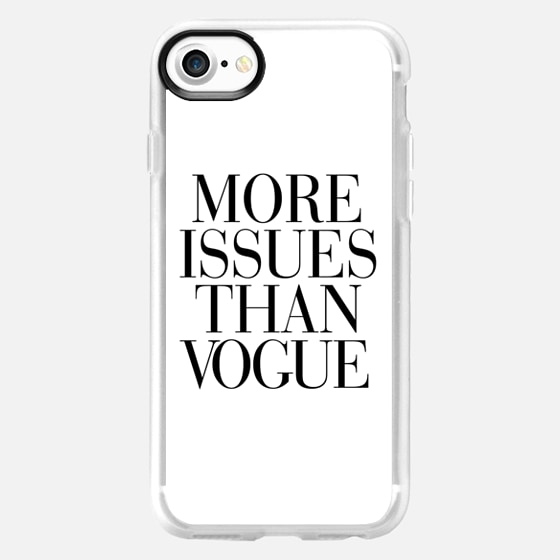 More Issues than Vogue iPhone 6 case -